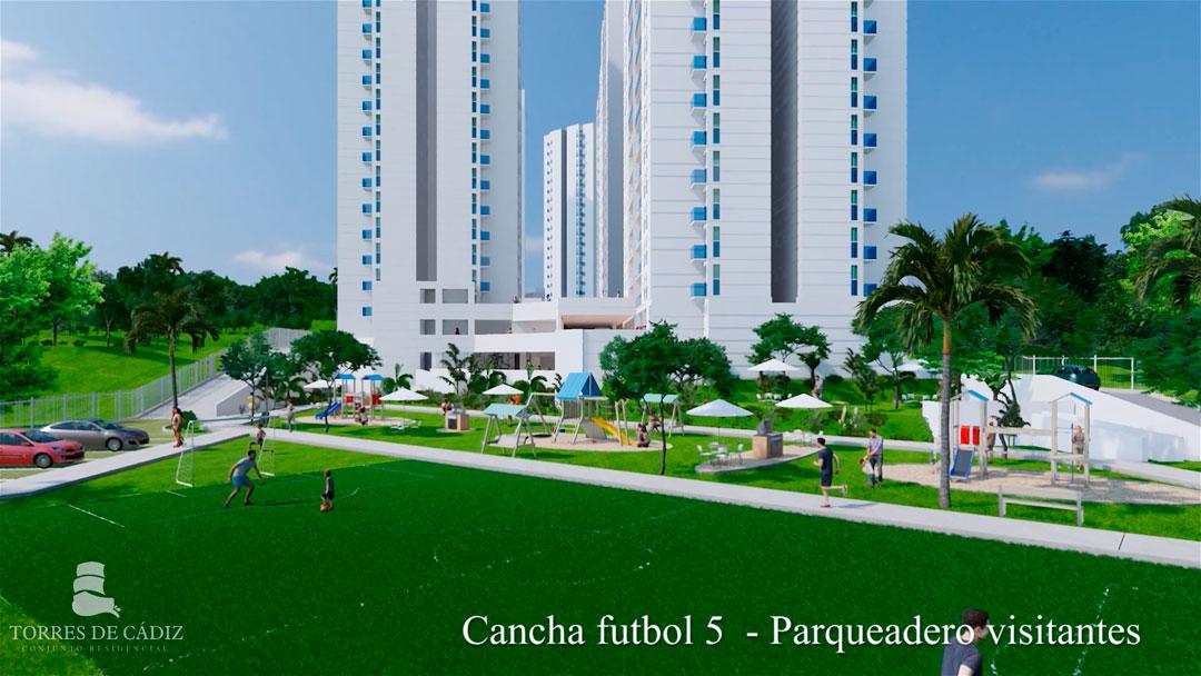 Cancha de fútbol Torres de Cádiz